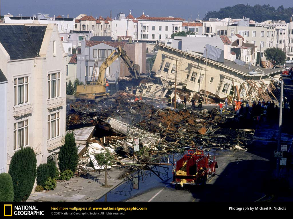 october 1989 damage from 1989 san francisco earthquake