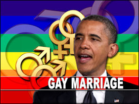 Obama and gay marriage rights