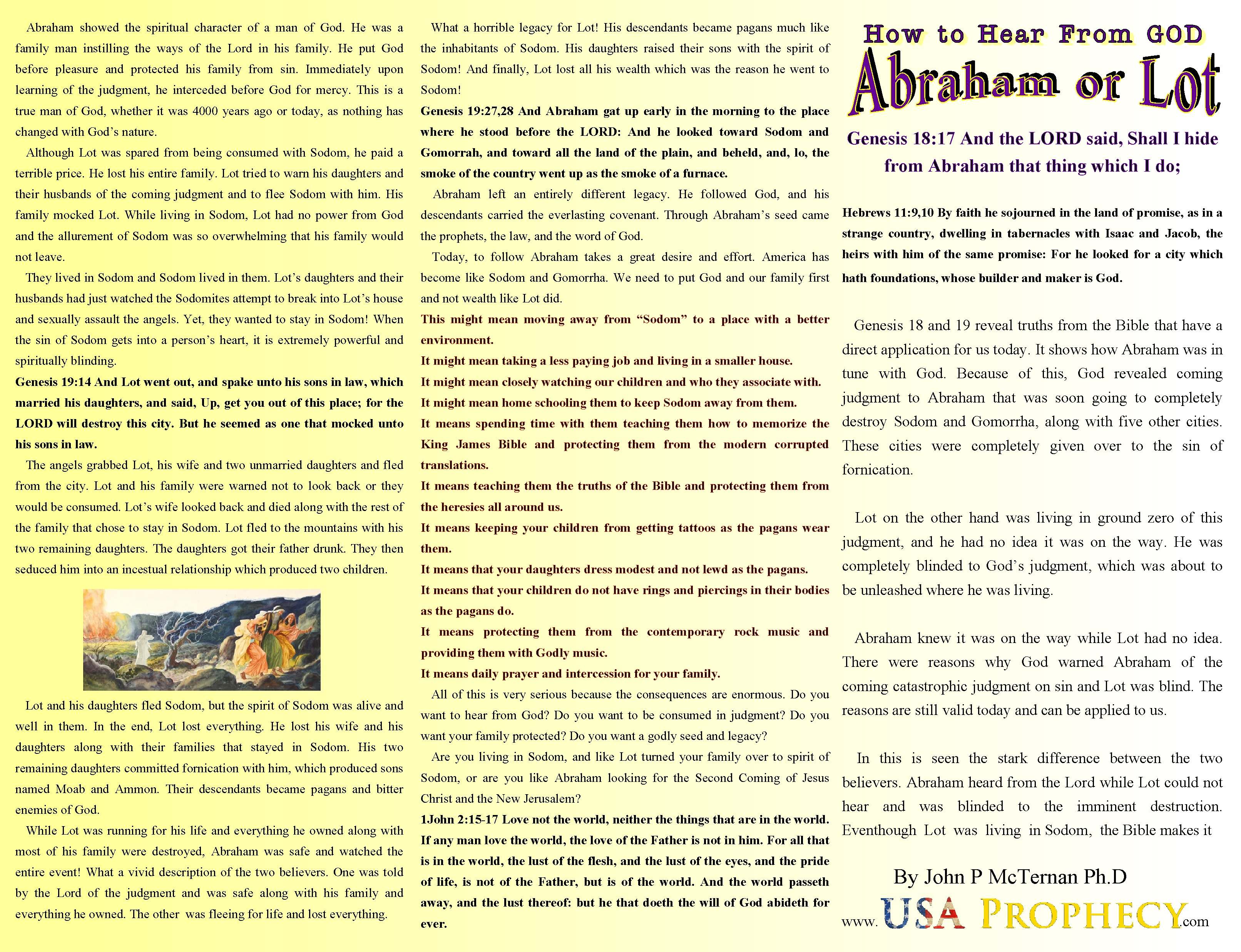 new brochure how to hear from god abraham or lot u2013 john
